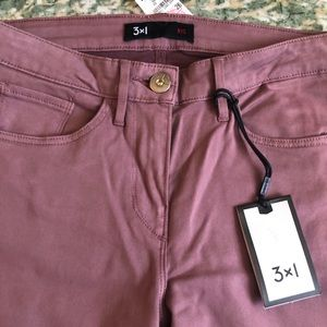 3x1 Mid Rise Bell Bottom Jean in Rose Taupe 26